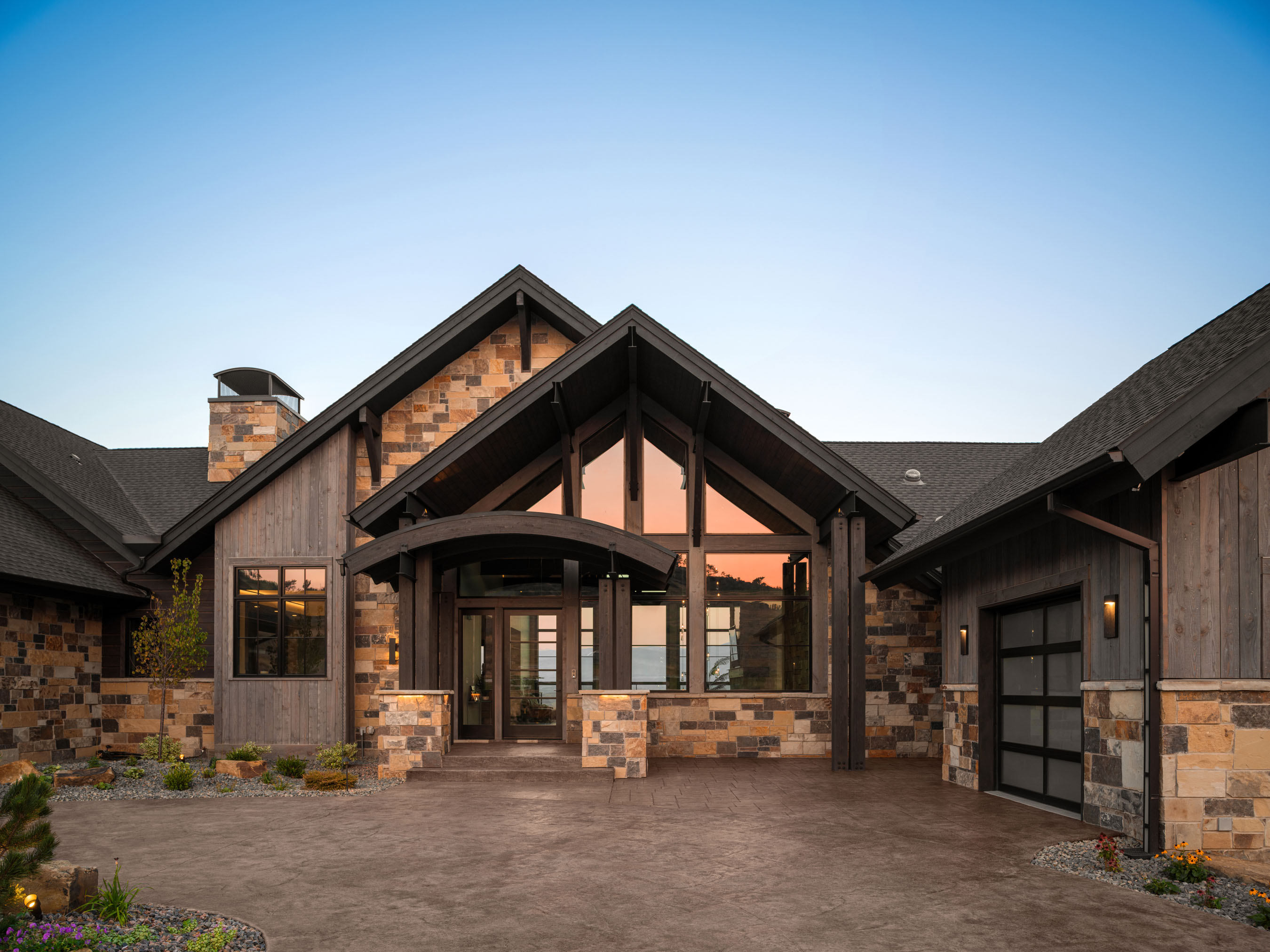 Architecture photography of Loveland, Colorado residence located in Hidden Valley Estates.