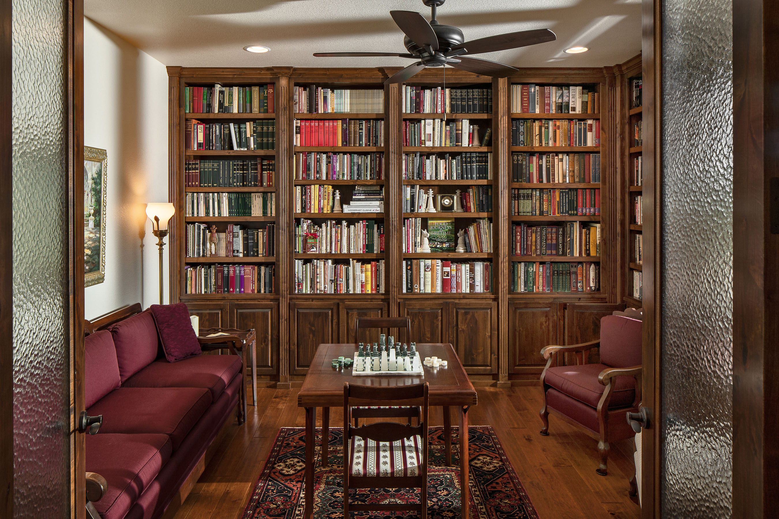 Interiors Photography • Library by Rentfrow Design