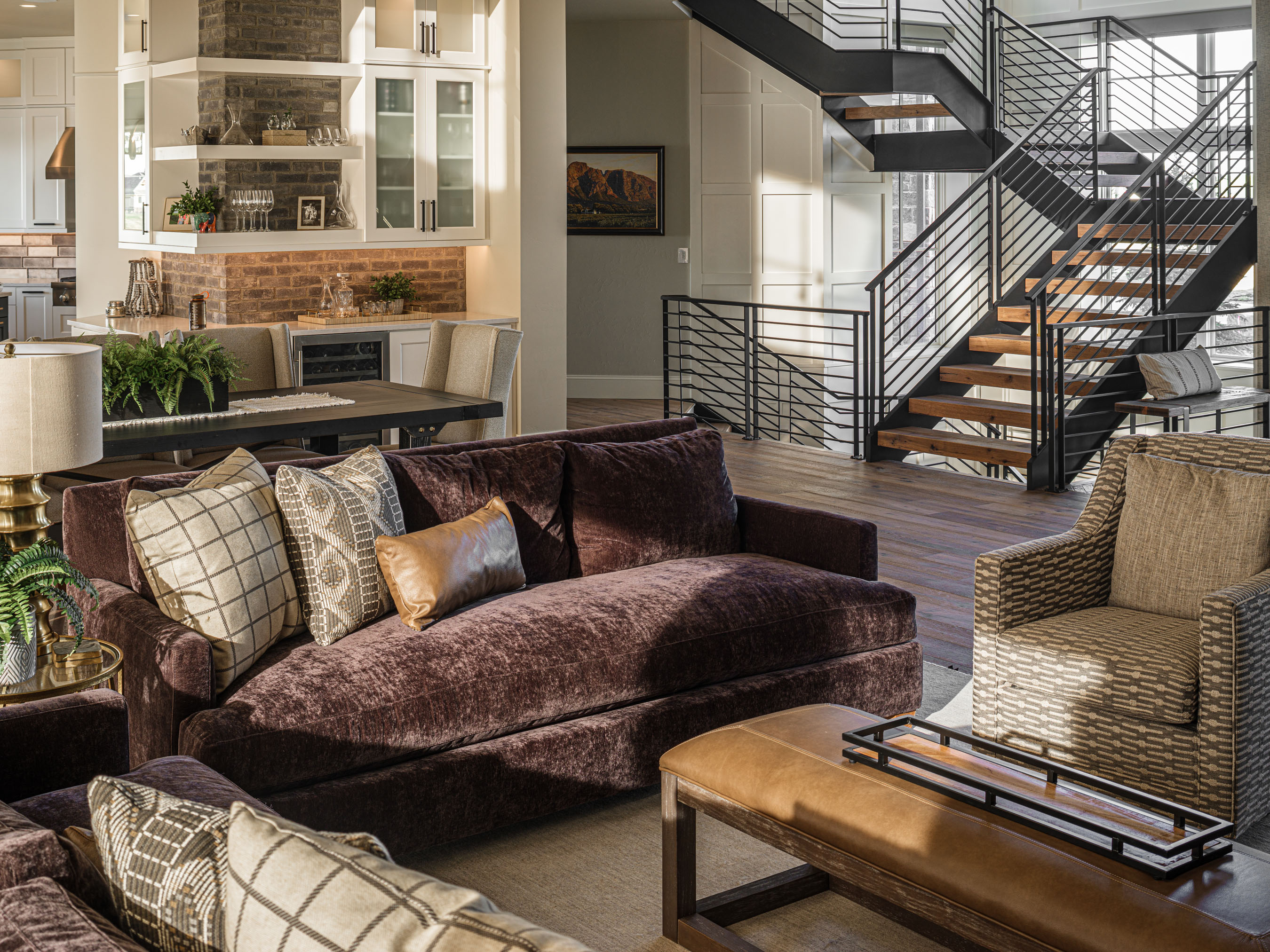 Interiors Photography • Custom Home by Brannen Homes
