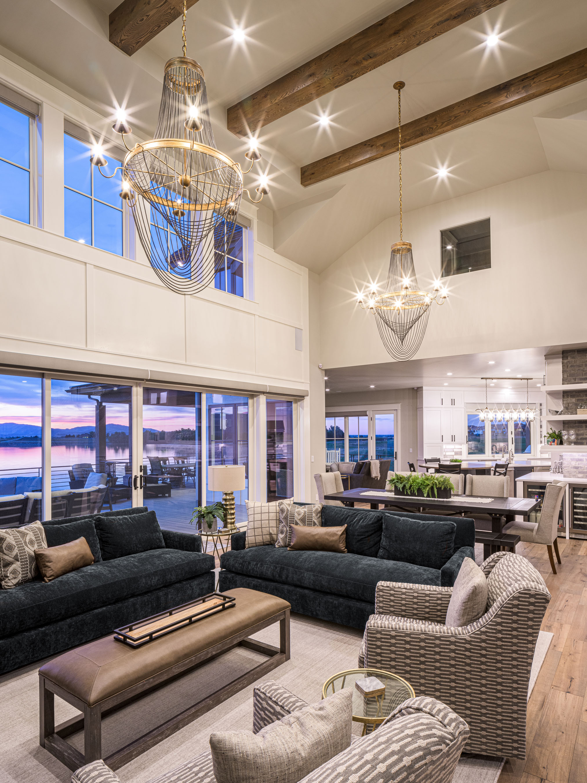 Interior Photography • Great Room by Brannen Homes