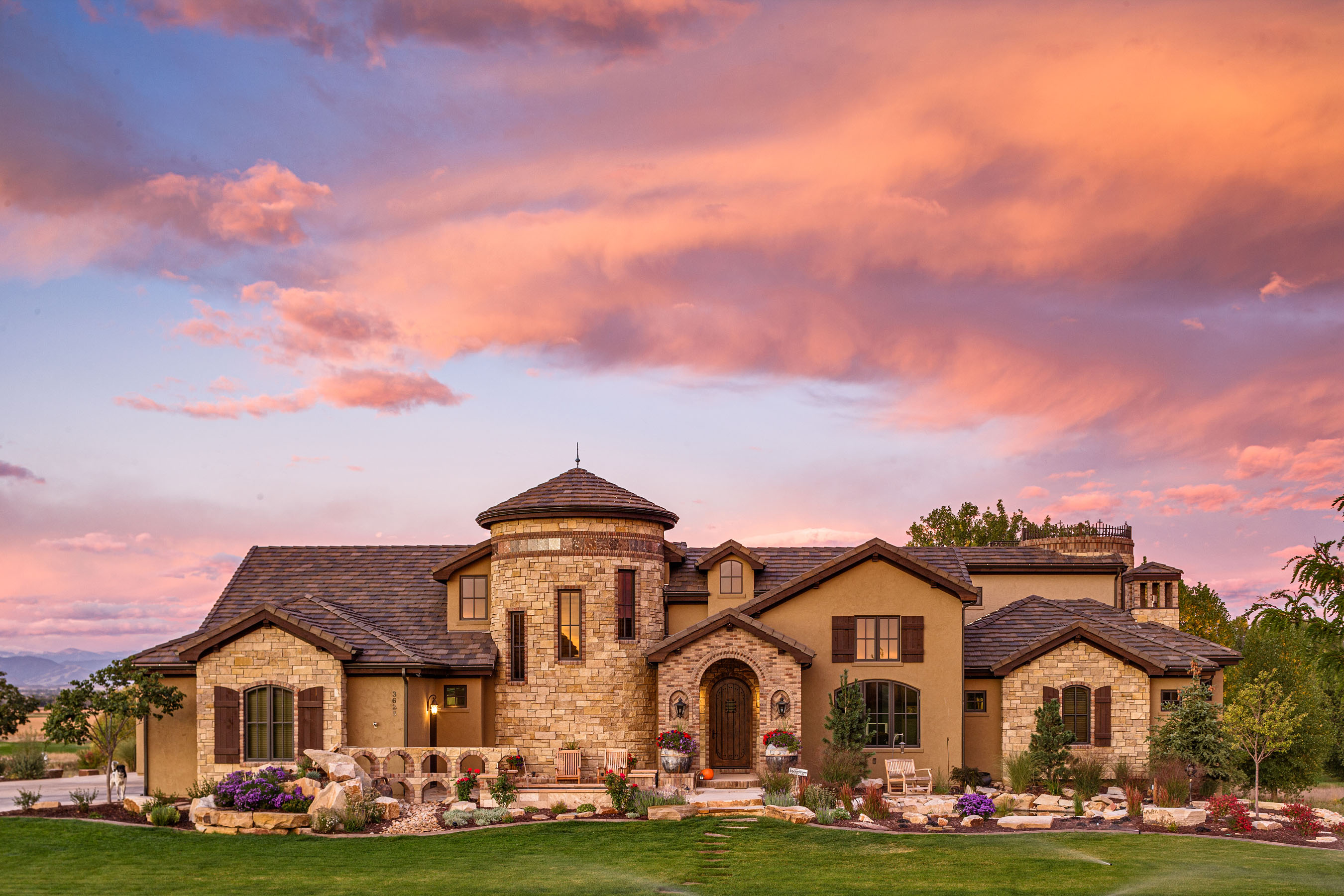 Residential Exterior Photography • Custom Home by Brannen Homes